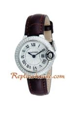 Cartier Ballon Bleu Medium 2012 Lady Watch 3