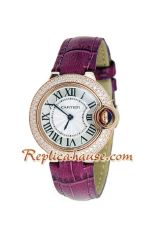 Cartier Ballon Bleu Medium 2012 Lady Watch 5