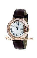 Cartier Ballon Bleu Medium 2012 Lady Watch 6