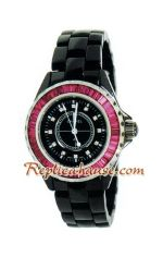 Chanel J12 Jewelry Authentic Ceramic Lady Watch 4