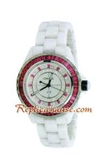 Chanel J12 Jewelry Authentic Ceramic Lady Watch 5