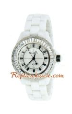 Chanel J12 Jewelry Authentic Ceramic Lady Watch 7