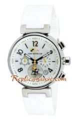 Louis Vuitton Tambour Automatic Chronograph Watch 01