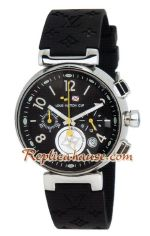 Louis Vuitton Tambour Automatic Chronograph Watch 02