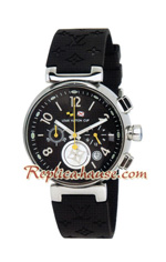 Louis Vuitton Tambour Automatic Chronograph Lady Watch 02