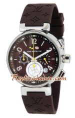 Louis Vuitton Tambour Automatic Chronograph Watch 04