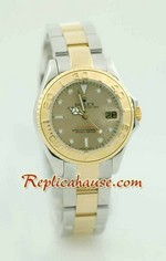Rolex Yachtmaster Two Tone Ladies Size 3