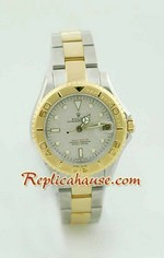 Rolex Replica Yacht Master Two Tone Ladies Size 5