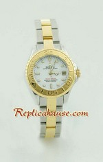 Rolex Yachtmaster Two Tone Ladies Size 9