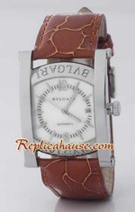 Bvlgari Assioma Leather Replica Watch 1