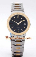 Bvlgari Bvlgari Replica Two Tone Watch 1