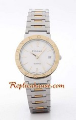 Bvlgari Bvlgari Replica Two Tone Watch 2