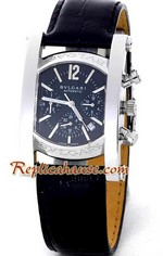 Bvlgari Assioma Replica Watch Black Dial