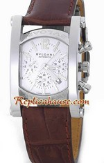 Bvlgari Assioma Replica Watch White Dial