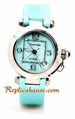 Cartier Pasha Ladies Replica Watch 04