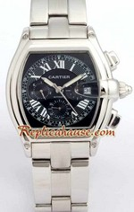 Cartier Roadster Automatic Black Face 2