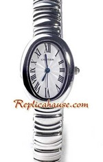 Cartier Mini Baignoire Replica Watch 1<font color=red>หมดชั่วคราว</font>