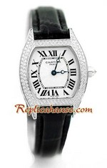 Cartier Tortue Swiss Ladies Replica Watch 1<font color=red>หมดชั่วคราว</font>