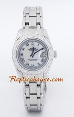 Rolex Replica Datejust Silver - White Dial Cellini
