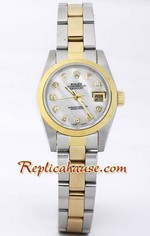 Rolex DateJust Two Tone Ladies - 32