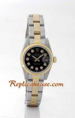 Rolex DateJust Two Tone Ladies - 27