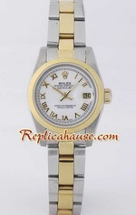 Rolex DateJust Two Tone Ladies - 30