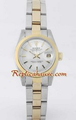 Rolex DateJust Two Tone Ladies - 31