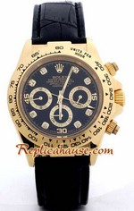 Rolex Replica Daytona Gold Leather 14
