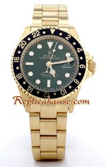 Rolex GMT Swiss Gold Watch 1