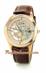 Jaeger LeCoultre Skeleton Swiss Replica Watch 3