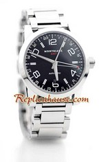 Mont Blanc Timewalker GMT Swiss Replica Watch 1