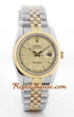 Rolex Replica Datejust two tone Watch 49
