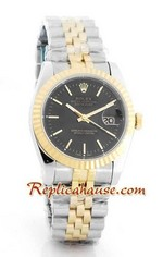 Rolex Replica Datejust two tone Watch 46