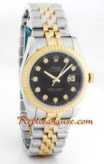 Rolex Replica Datejust two tone Watch 43