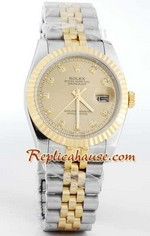 Rolex Replica Datejust two tone Watch 39
