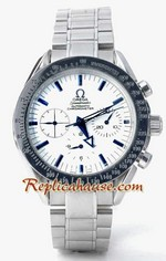 Omega Speedmaster White Face 1