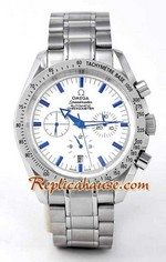 Omega Speedmaster White Face 2