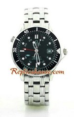 Omega Seamaster Professional GMT Watch 4