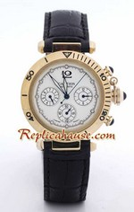 Cartier Replica De Pasha Gold Watch
