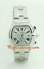 Cartier Roadster Automatic White Face 4