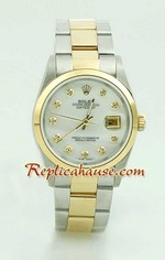 Rolex DateJust Replica Watch Oyester - 3