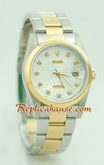 Rolex DateJust Replica Watch Oyester - 8