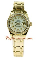 Rolex Replica Swiss Datejust Ladies Watch 55