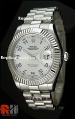 Rolex Replica Datejust White Swiss Watch 07