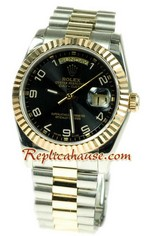 Rolex Day Date Two Tone Swiss Replica watch 09