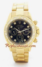 Rolex Daytona Replica Gold Diamond 3<font color=red>หมดชั่วคราว</font>