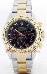 Rolex Daytona Two Tone Black Face- 6<font color=red>หมดชั่วคราว</font>