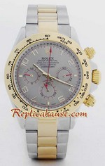 Rolex Daytona Two Tone Dark Silver Face - 9<font color=red>หมดชั่วคราว</font>