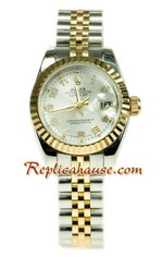 Rolex Replica Datejust Two Tone Ladies Watch 43