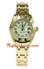 Rolex Replica Swiss Datejust Ladies Watch 57